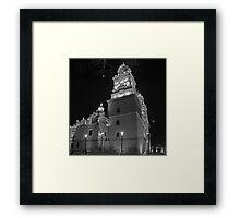 ©MS Catedral De Morelia IA Monochrome Framed Print