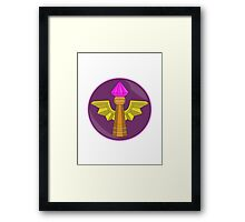 Visionary. Framed Print
