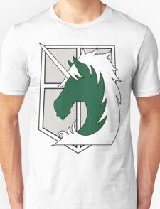 Attack on Titan Military Police logo T-Shirt