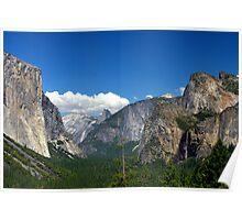 Inspiration Point, Yosemite Poster