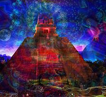 The Sacred Pyramid by Tatjana Blank