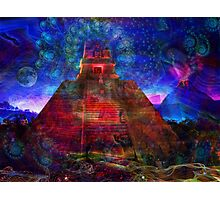 The Sacred Pyramid Photographic Print