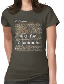 Cycling T Shirt - Biofuel Commuter Womens Fitted T-Shirt