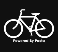 Powered By Pasta (White) by sher00