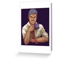 Cecil Baldwin - Welcome to Nightvale Greeting Card