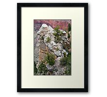 Rock Formations of South Rim Grand Canyon Framed Print