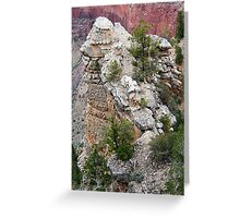 Rock Formations of South Rim Grand Canyon Greeting Card