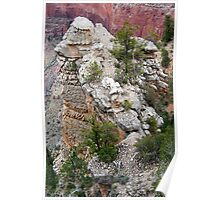 Rock Formations of South Rim Grand Canyon Poster