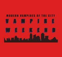 Vampire Weekend Band Shirt One Piece - Short Sleeve