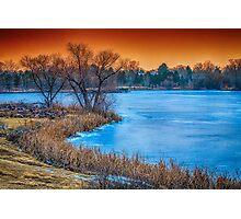 Sunset Effect Photographic Print