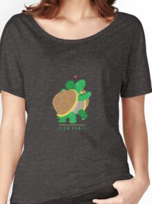 Two Slow Dancing Turtles In Love Women's Relaxed Fit T-Shirt