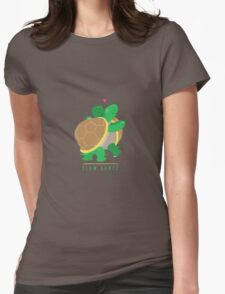 Two Slow Dancing Turtles In Love Womens Fitted T-Shirt