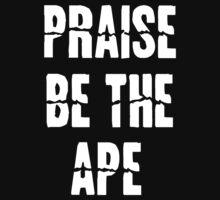 Praise Be The Ape ( Alabado sea el simio) homer simpson by StuntmanSS