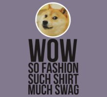 Wow. Such offer. So cool. Kids Tee