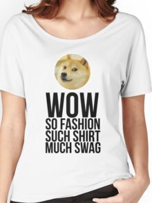 Wow. Such offer. So cool. Women's Relaxed Fit T-Shirt