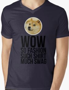 Wow. Such offer. So cool. Mens V-Neck T-Shirt