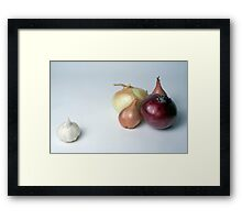 There's one in every family Framed Print