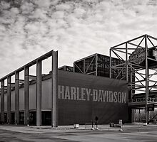 Harley Davidson Museum - USA by Norman Repacholi