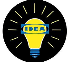 Bright IDEA parody logo for IKEA by Thereal Appeal