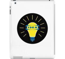 Bright IDEA parody logo for IKEA iPad Case/Skin