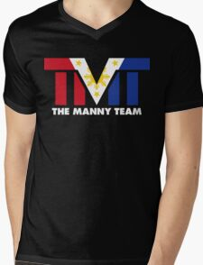 The Manny Team Filipino Flag TMT by AiReal Apparel Mens V-Neck T-Shirt