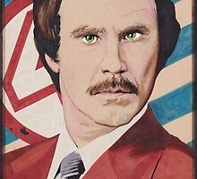I'm Ron Burgundy by Kyle Willis