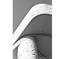 Curves in Stone Photographic Print