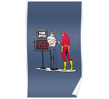 Funny flash Poster