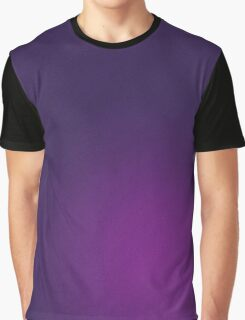 Purple Grain Graphic T-Shirt