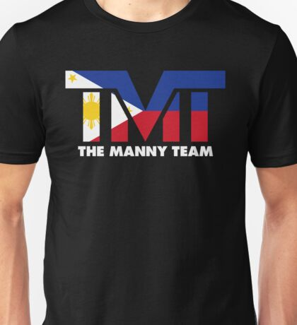 The Manny Team Filipino Flag TMT by AiReal Apparel Unisex T-Shirt
