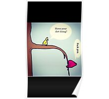 Funny birds Poster