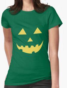 Jack O Lantern Womens Fitted T-Shirt