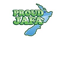 PROUD JAFA (New Zealand Kiwi design) Just another Fing Aucklander Photographic Print