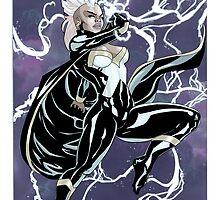 Uncanny X-Force Storm by RadPencils