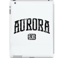 Aurora 630 (Black Print) iPad Case/Skin