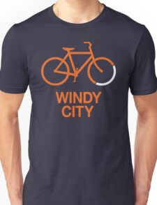 Bike Windy City (v2) Unisex T-Shirt