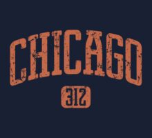 Chicago 312 (Orange Print) by smashtransit