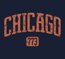 Chicago 773 (Orange Print) by smashtransit