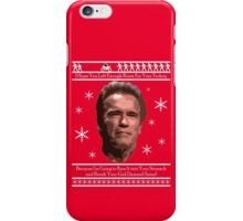 Arnold Christmas - Room for Turkey iPhone Case/Skin