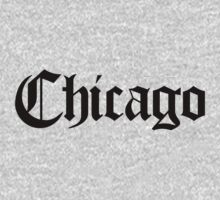 Chicago Gothic (Black Print) by smashtransit