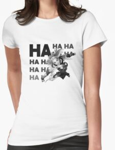 The Lux Laugh Womens Fitted T-Shirt