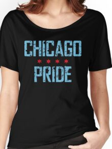 Chicago Pride (v1) Women's Relaxed Fit T-Shirt