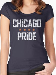 Chicago Pride (v2) Women's Fitted Scoop T-Shirt