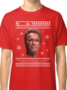 Arnold Christmas - Room for Turkey Classic T-Shirt