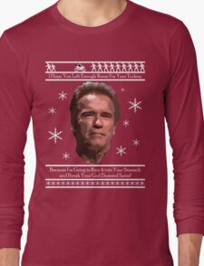 Arnold Christmas - Room for Turkey Long Sleeve T-Shirt