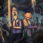 Bert Of The Dead (Samsung) by HauntedMarsh