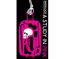 Sherlock - A Study in Pink Episode Poster Photographic Print