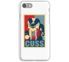 What the cuss? iPhone Case/Skin