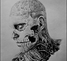 Rick genest by annmadrid