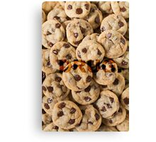 Cookies addict. Canvas Print